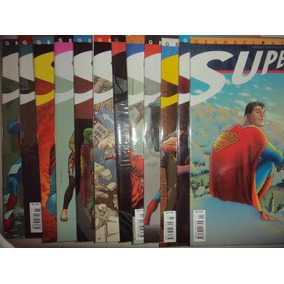 Grandes Astros Superman 1 A 12 Completa Panini 2007 Excelent