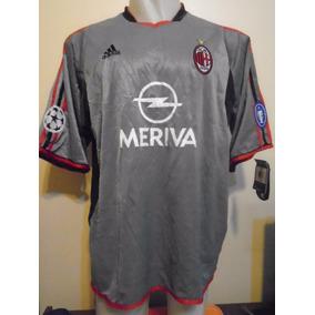 Camiseta Milan Italia Champions L. 2003 2004 Kaká  22 Brasil 64998c5b9019e