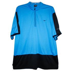 Playera Para Tenis Andre Agassi Nike Azul Y Negro