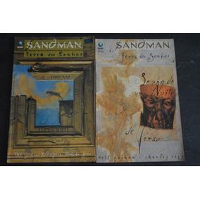 Sandman Terra Dos Sonhos 18 E 19 Hq