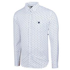 f79bf7a1d2828 Camisa Casual Polo Club Original Blanco Xb1808+ Envio Dgt