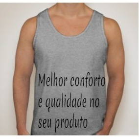 Camiseta Regata Lisa Atacado - Camisetas e Blusas no Mercado Livre ... 5fee2e3db11