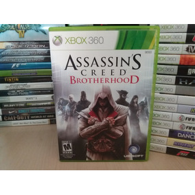 Jogo Assassis Creed Brotherhood Xbox 360 Original
