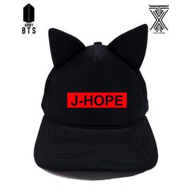 Boné Trucker Com Orelinha Bts J- Hope Tumblr Oferta Novo ! 3ce925f7975