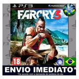 Jogo Ps3 Far Cry 3 Psn Play 3 Legendas Pt Br Mídia Digital