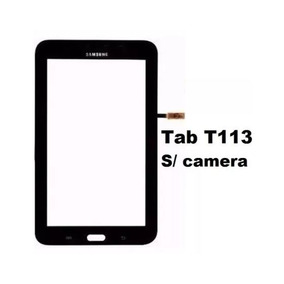 Touch Tablet Samsung Tab 3 Lite T113 Preto S/ Camera Frontal