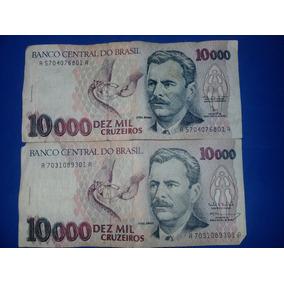 Cédula 10000 Cruzeiros