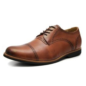 Sapato Masculino Social Oxford Couro Tamanho Especial 6815/1