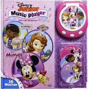 Livro De Histórias - Music Player Disney Junior
