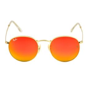 Oculos Rayban Redondo Laranja - Óculos no Mercado Livre Brasil 09012883ef