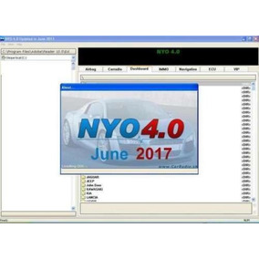 Software Nyo 2017 Para Painéis Ecu Immo Radio Airbag Autos