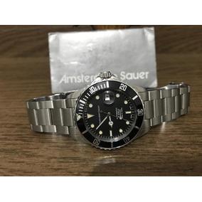 1400316db4e94 Relógio Safira Amsterdam Sauer - Relógios De Pulso no Mercado Livre ...