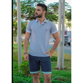 023d8fa81e Camisa Polo Com Bolinhas - Camisa Manga Curta Masculinas Preto em ...