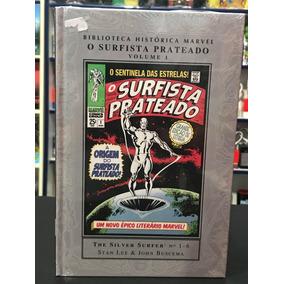 Hq O Surfista Prateado Vol 1 Biblioteca Histórica Marvel