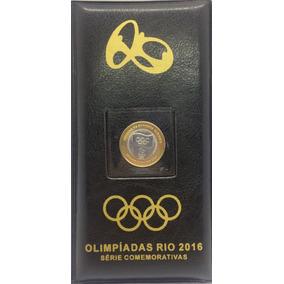 Álbum Completo 17 Moedas Das Olimpíadas - Com Bandeira