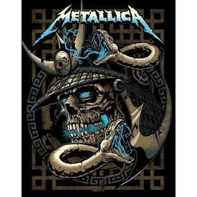 Back Patch Banda Metallica 28x20 - Backpatch #3