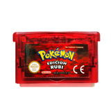 Pokemon Ruby En Español + 386 Pokemon Shinys - Nintendo Gba