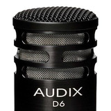 Audix D6 Kick / Bass Drum Microphone W / Clip And Pouch...