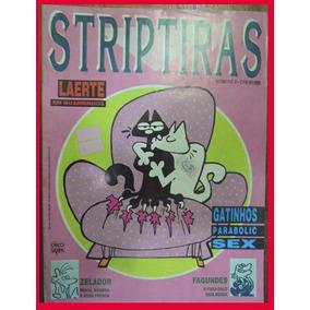 Gibi Striptiras Número 2 Laerte Em Quadrinhos Raridade