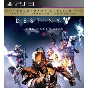 Destiny The Taken King Com 3 Dlcs Ps3 Psn Dublado