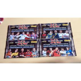 Lote 180 Cards Brasileirao 2014 36 Envelopes Lacrados Pasta