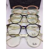 c9d025c6fa0a1 Óculos Armação De Grau Redondo Round Metal Unissex C  Brinde