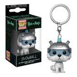 Funko Pop! Keychain: Rick & Morty - Snowball (32351)