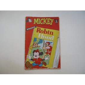 Mickey Nº 16 Abril 1954 Todo Original Apresenta Robin Hood