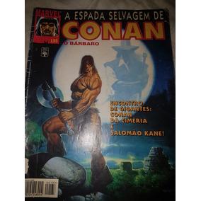 Revista A Espada Selvagem De Conan O Bárbaro N°133 Marvel