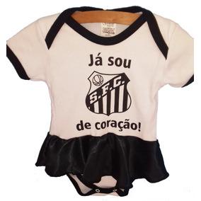 Roupas De Menina Santos - Bodies de Bebê no Mercado Livre Brasil 4de93d0025532