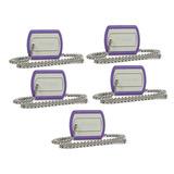Paquete 5 Memorias Usb Verbatim, Plata, 8 Gb, Usb 2.0