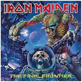 Cd Iron Maiden The Final Frontier - Novo Original Lacrado