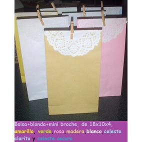 Bolsa+blonda+minibroche, 18x10x4