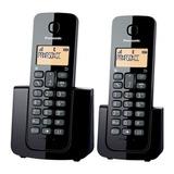 Panasonic Teléfono Inalámbrico Digital De Dos Auriculares