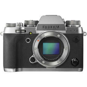 Câmera Profissional Fujifilm X-t2 Somente Corpo Prata