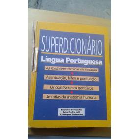 Livro Superdicionário Da Língua Portuguesa - Francisco Ferna