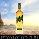 Whisky Johnnie Walker Green Label / Etiqueta Verde 750 Ml