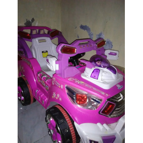 Carrito Electrico Barbi Niña 4*4