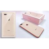 Iphone 8 Plus 64 Gb Gold+ Pelicula+capa Brinde