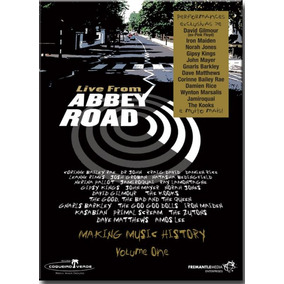 Dvd Live From Abbey Road - Diversos Internacionais - (dvd Du