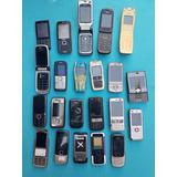 Lote Com 22 Celulares Nokia Diversos Mod. (leia A Descrição)