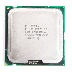 Intel Core 2 Duo, 1.86 Ghz, Socket 775. Processador