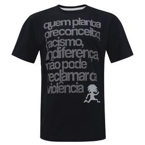 Camiseta Quem Planta Preto