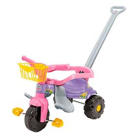 Triciclo Infantil Tico-tico Festa Com Aro/haste - Magic Toys