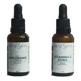 Sérum Facial Acido Hialurônico + Vitamina C Pura Next Skin