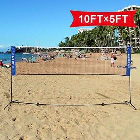 Red De Playa Portátil De Entrenamiento Con Bolsa De Transpo