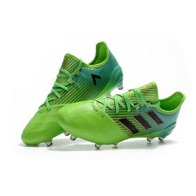 Chuteira Adidas Verde Limao - Chuteiras Adidas para Adultos no ... 4879fd6b02ccc