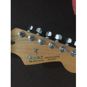 Fender Stratocaster Made In Mexico Color Sunburst...