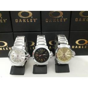 Relógio Masculino Oakley Com Calendário Em Promoção C/caixa