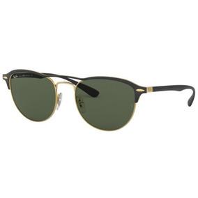fc1bdeed7802d Oculos Sol Ray Ban Rb3596 907671 54 Preto Dourado L G15
